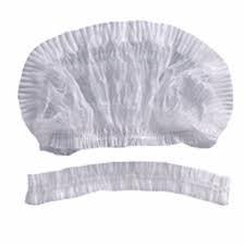 Touca Sanfonada Branca c/100 Un