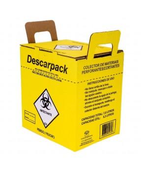 Coletor De Material Perfurocortante 7,0 Litros Descarpack