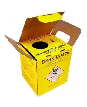 Coletor de Material Perfurocortante 1,5 Litros Descarpack
