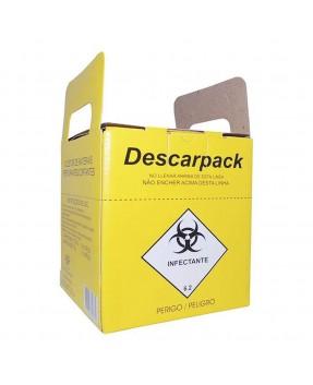 Coletor De Material Perfurocortante 13,0 Litros Descarpack