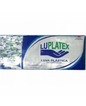 Luva Plástica estéril Luplatex