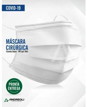 MÁSCARA DUPLA DESCARTÁVEL C/50